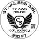 37 AWG Stainless Steel 316L — 250ft