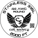 44 AWG Stainless Steel 316L — 2000ft
