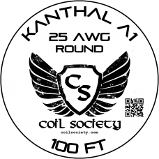 25 AWG Kanthal A1 — 100ft