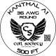 36 AWG Kanthal A1 — 500ft