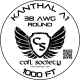38 AWG Kanthal A1 — 1000ft