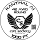 42 AWG Kanthal A1 — 1000ft