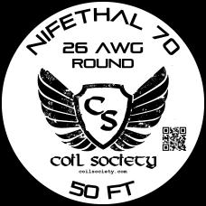 26 AWG Nifethal 70 — 50ft