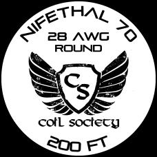 28 AWG Nifethal 70 — 200ft