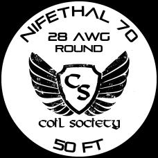 28 AWG Nifethal 70 — 50ft