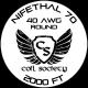 40 AWG Nifethal 70 — 2000ft