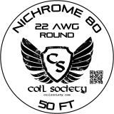 ***OUT OF STOCK*** 22 AWG Nichrome 80