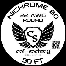 22 AWG Nichrome 80 — 50ft