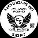 25 AWG Nichrome 80 — 100ft