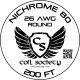 26 AWG Nichrome 80 — 200ft