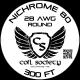 28 AWG Nichrome 80 — 300ft