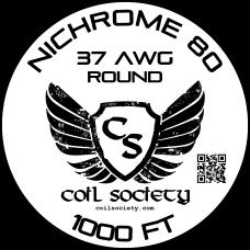37 AWG Nichrome 80 —1000ft