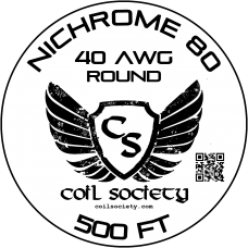 40 AWG Nichrome 80 — 500ft