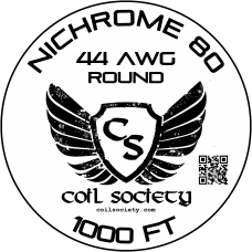 44 AWG Nichrome 80 — 1000ft