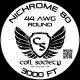 44 AWG Nichrome 80 — 3000ft