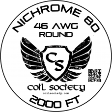 46 AWG Nichrome 80 — 2000ft