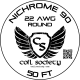22 AWG Nichrome 90 — 50ft