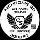 40 AWG Nichrome 90 — 2000ft