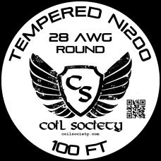 28 AWG Tempered ni200 — 100ft
