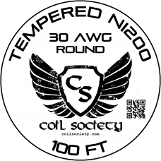 30 AWG Tempered ni200 — 100ft