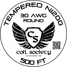 30 AWG Tempered ni200 — 500ft