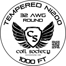 32 AWG Tempered ni200 — 1000ft