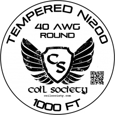 40 AWG Tempered ni200 — 1000ft