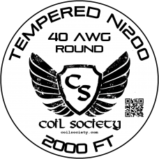40 AWG Tempered ni200 — 2000ft