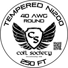 40 AWG Tempered ni200 — 250ft